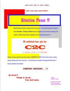 Publikasi C2C Container