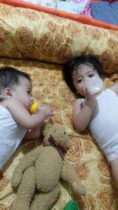 Anak-anak gue yang masih belom pada tidur